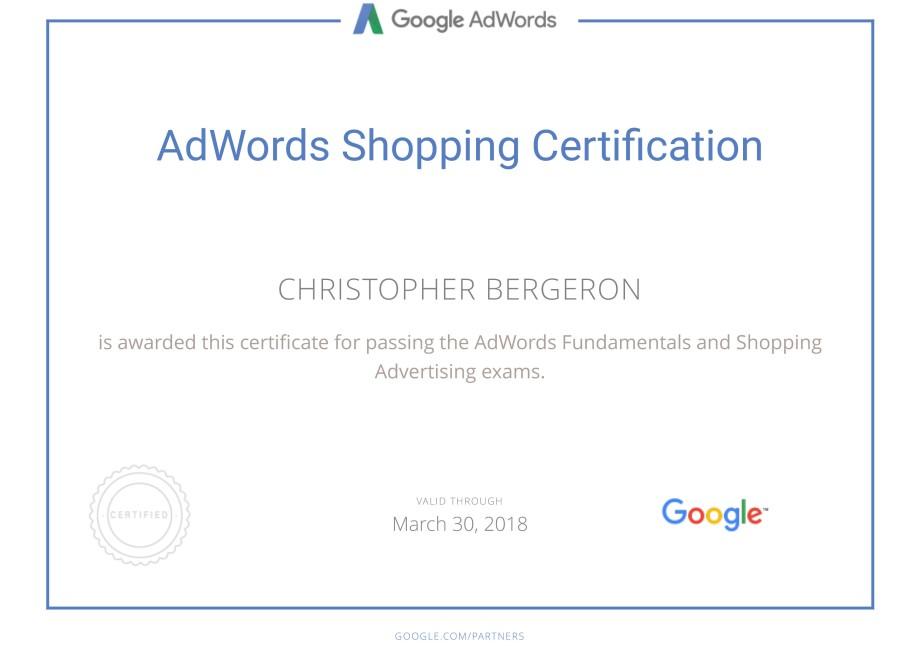 Google Partners - Certification